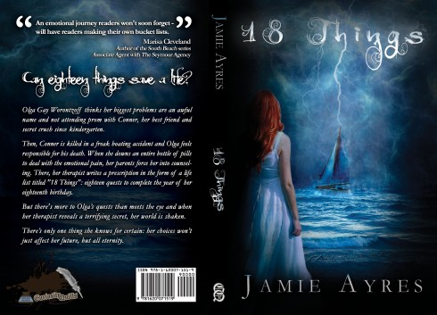 18 Things cover print sample