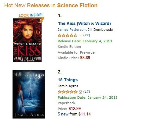 beating James Patterson