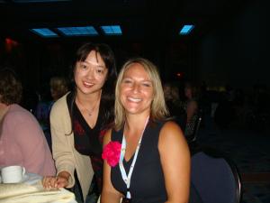 Risa & me at RWA Nationals