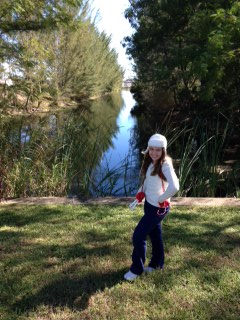 Our backyard . . . I've always wanted to be on the water! Fun Fishing times, but being that it's Florida, beware of gators!